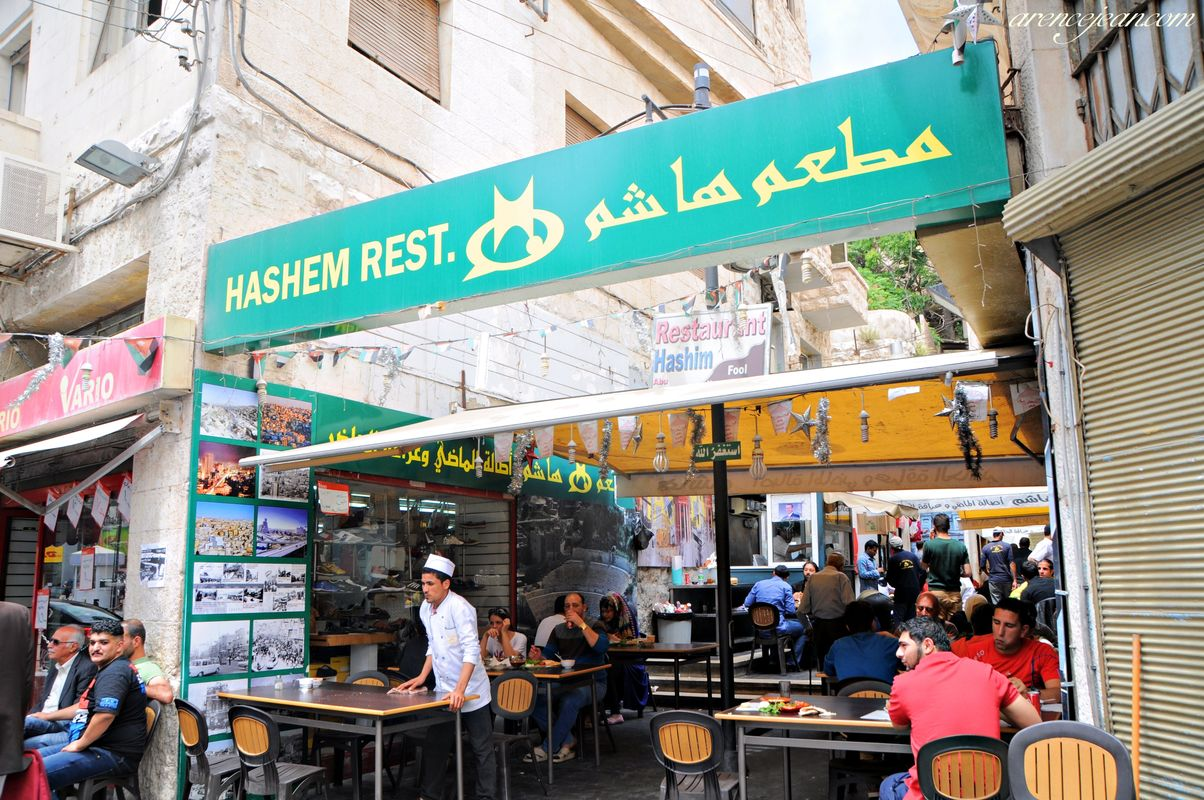 Hashem Restaurant (In downtown Amman)