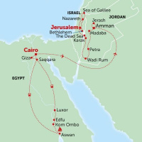 Jordan Israel Egypt Holy Land Tours options