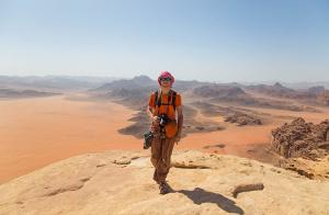 Jabal Al Hash Mountain Trekking tour in Wadi Rum 2