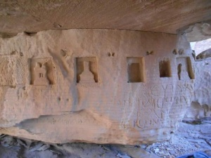 Jabal Umm Al Biyara guided trail in Petra 14
