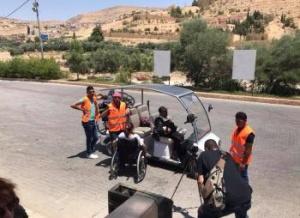 Golf Carts in Petra 02