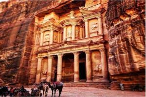 פטרה וואדי ראם Tour עבור 02 ימים - 01 לילה מ אילת הגבול (ELT-HEBREW-JHT-004)